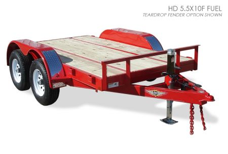 H&H HD Fuel Hauler Trailer