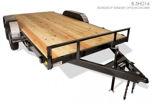 H&H Heavy Duty Flatbed Trailer