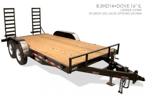 H&H Industrial Line Flatbed Trailer