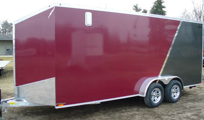 V front enclosed trailer understanding tongue weight