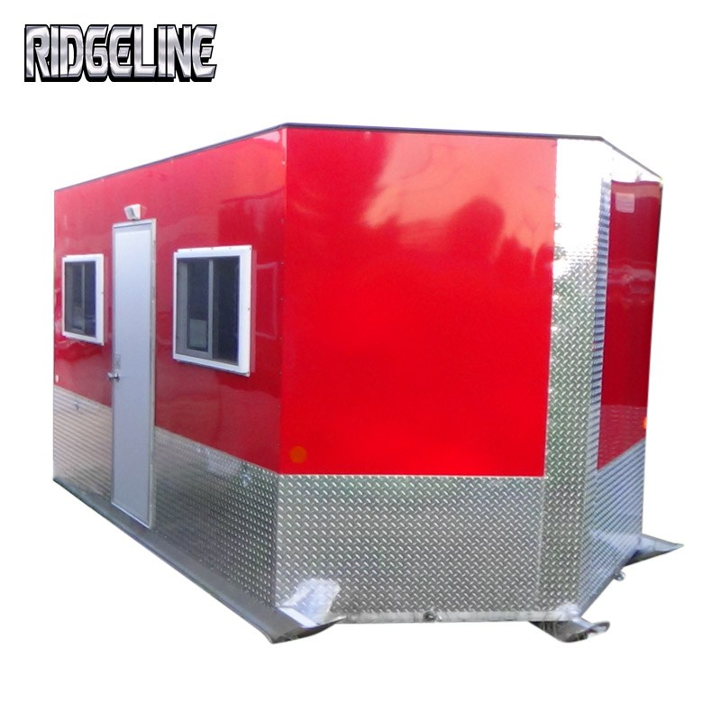 Ridgeline skid fish house