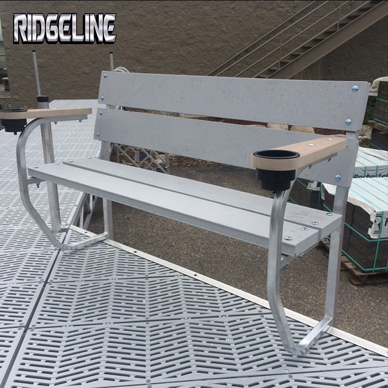 Ridgeline dock bench