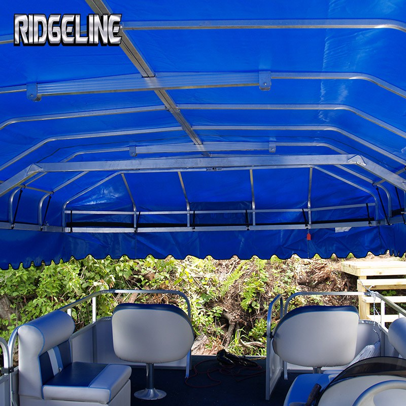 Ridgeline boat or pontoon lift is an all aluminum construction