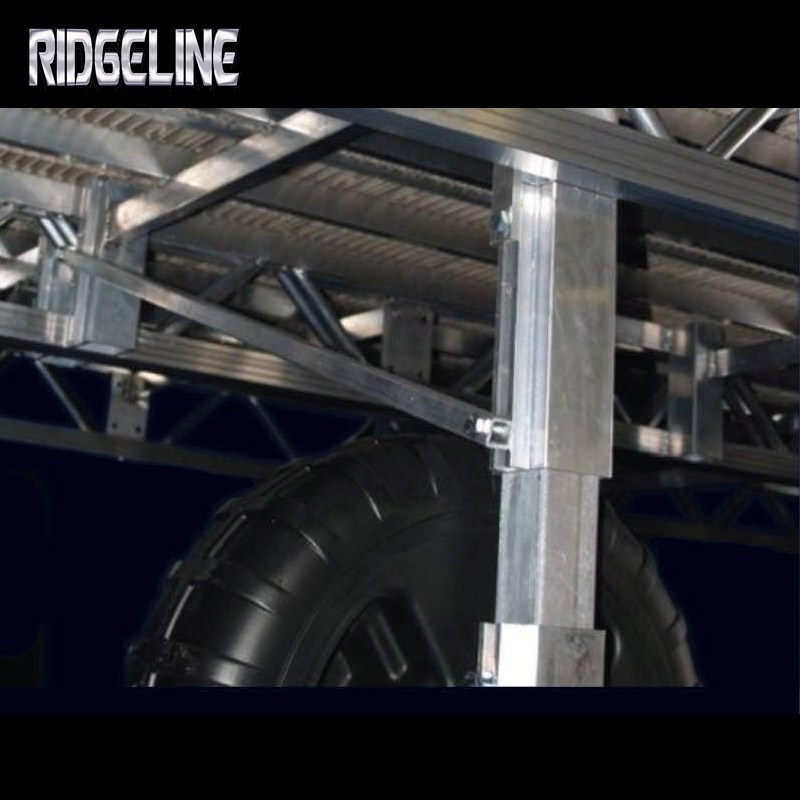 Ridgeline dock extended wheel pockets