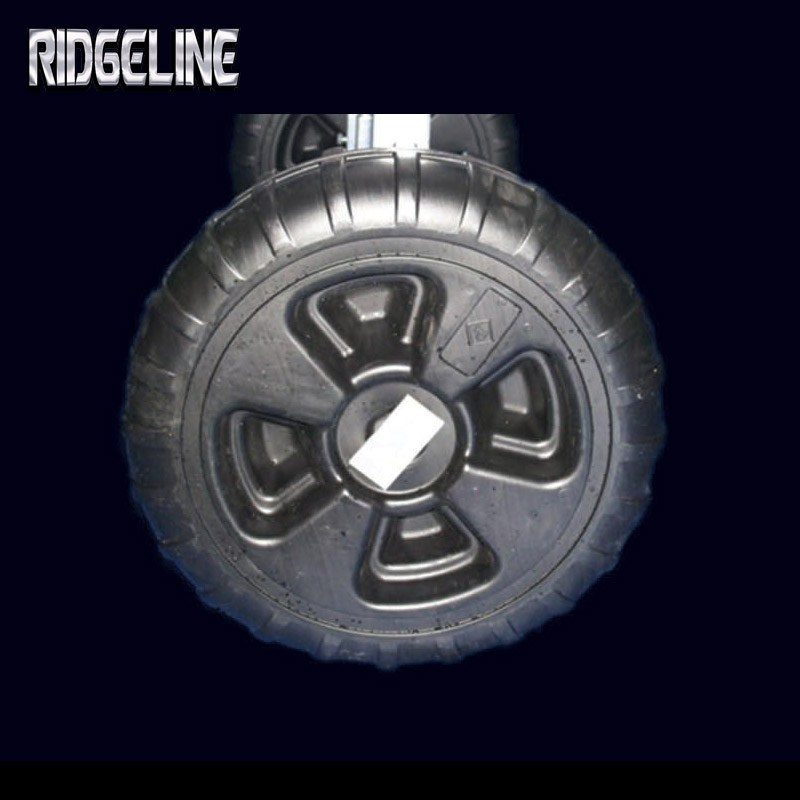 Ridgeline dock roto-molded plastic tires and kits